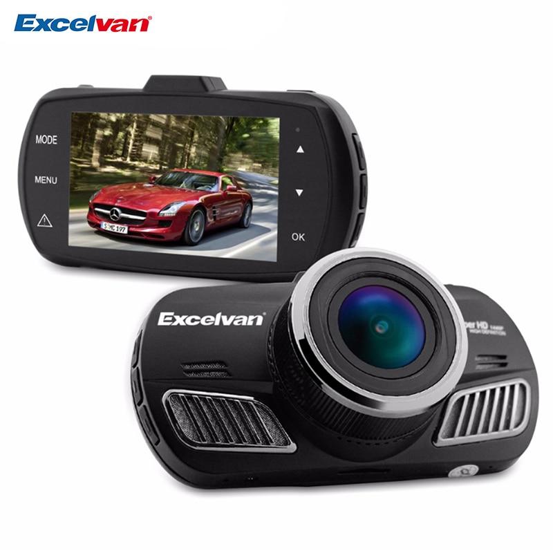 """imágenes para Excelvan WD-201 A12 de Ambarella 2.7 """"coche DVR LCD de La Cámara 170 Grados HD1440P Dash Cam G-sensor de Visión Nocturna Grabador de Vídeo Digital"""