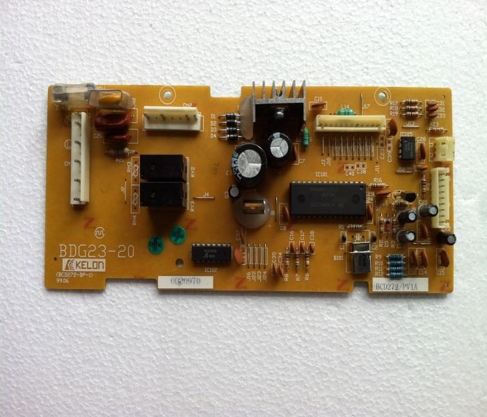 refrigerator pc board motherboard power supply board bdg23-20 bcd-272-bp-1 bcd272pv1arefrigerator pc board motherboard power supply board bdg23-20 bcd-272-bp-1 bcd272pv1a