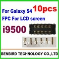 10 pcs guaranttee FPC connector for Galaxy s4 i9500  LCD screen on motherboard logic board YL578-1