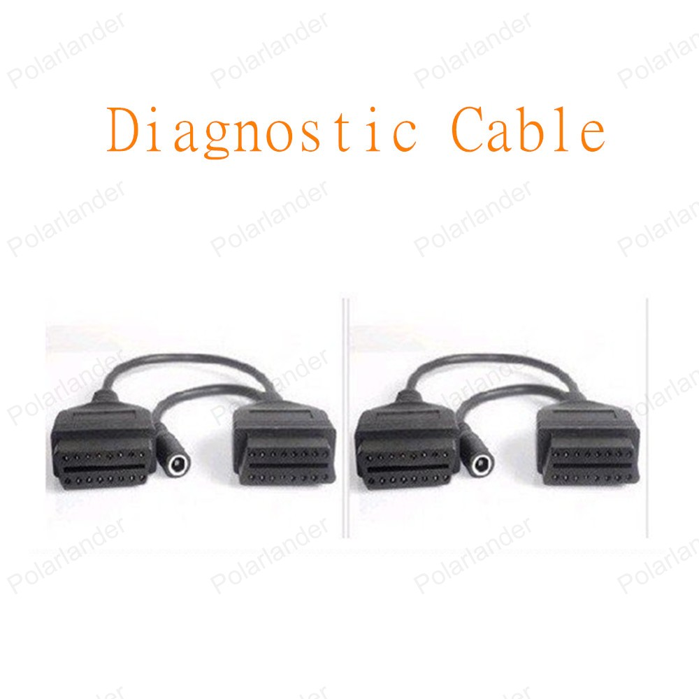 2016 Free Shipping 16pin to 12pin <font><b>OBD</b></font> Interface For Mitsubishi Diagnostic <font><b>Scanner</b></font> Cable Car Diagnostic Cable image