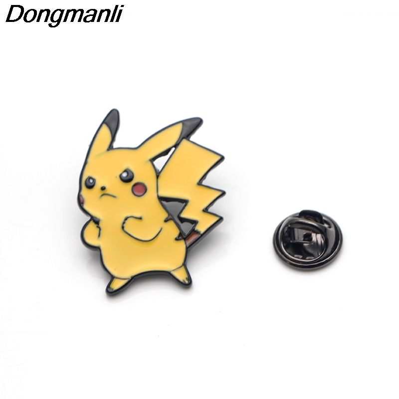 Image 3 - P3356 Wholesale 20pcs/lot Cute  Metal Enamel Pins and Brooches  for Women Men Lapel Pin backpack bags Hat badge GiftsBrooches   -