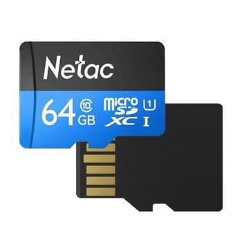 Netac p500 karte 32gb 64gb cartão de memória classe 10 preço por atacado cartões tf cartão de memória UHS-1 microsdhc/sdxc dropship cartão sd