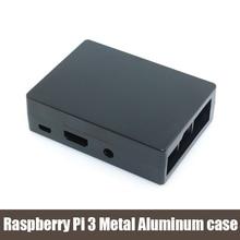 Raspberry Pi Raspberry Pi de 3 caixa De Alumínio De Metal-metal de alumínio caso para Raspberry Pi Raspberry Pi 3 3rd generation 2 & B plus & 3