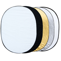35 47 90 120cm Oval 5 In 1 Multi Portable Collapsible Studio Photo Photography Light Reflector