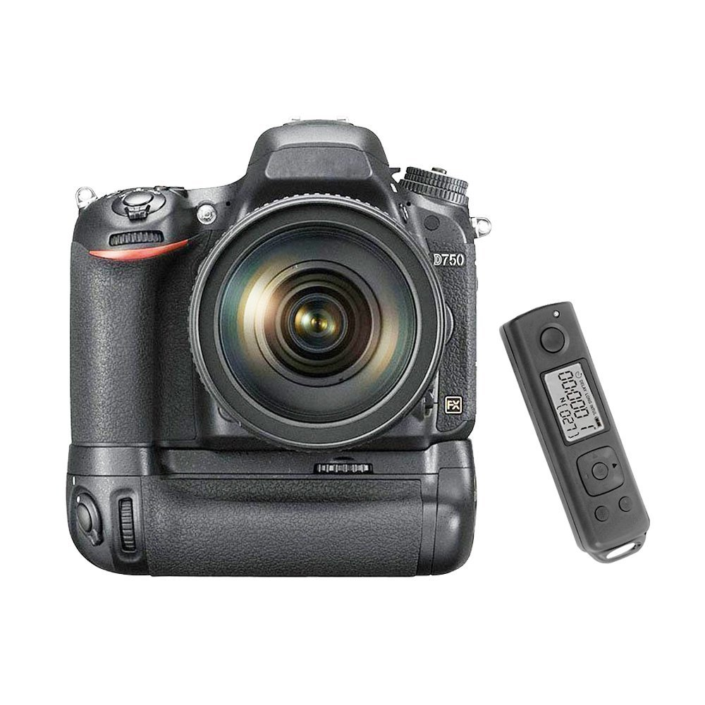 Meike MK-DR750 Built-in 2.4g Wireless Control Battery Grip for Nikon D750 AS MB-D16 meike mk ar7 built in 2 4g wireless control battery grip for sony a7 a7r a7s