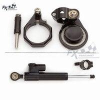 CNC Motorfiets Stabilizer Stuurdemper Montagebeugel Ondersteuning Kit Voor Suzuki GSXR600 GSXR750 06-10 GSXR1000 07-08 GSXR 600