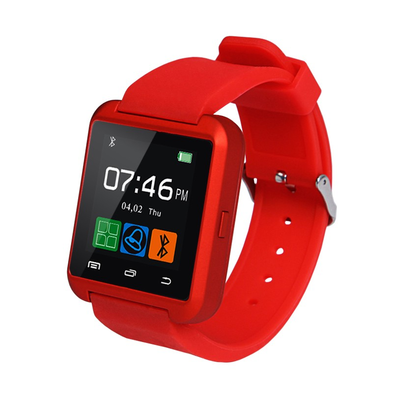 Smart Watches U8 Sport  Pedometer Handsfree Bluetooth Smartwatch Wristband for Android Phone black one size 16