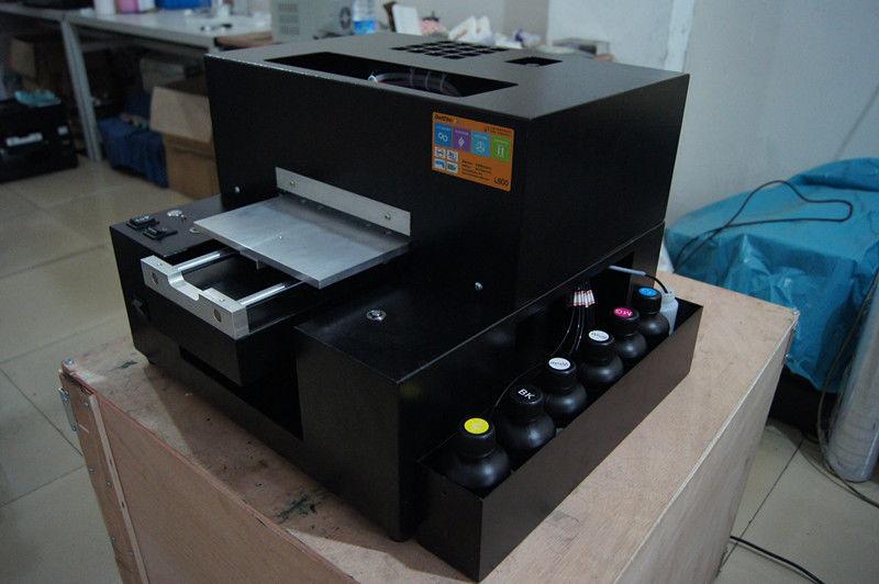CoöPeratieve Kleine Uv Printer Kleinste Uv Flatbed Printer Voor Telefoon Telefoon Case Afdrukken Te