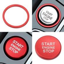 Кнопка запуска и остановки двигателя автомобиля, кольцо, отделка зажигания, крышка, украшение для VW Golf 7 MK7 GTI R Jetta Arteon Passat B8, обновленный стиль