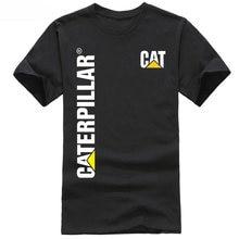 fb97ec87c50 Mens T Shirts Fashion 2018 New Caterpillar CAT Men s Cotton Comfort  Trademark Signature T-Shirt