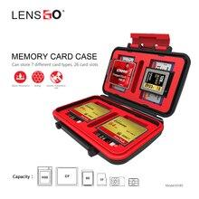 Cartão de memória Caso Inquebrável À Prova D' Água para 8TF/8SD/3CF/1QXD/2 SIMCard/2 MICRO SIM /2 NANO SIM caixa Organizador