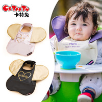 Crtartu Baby Bib Children Eat Pocket Waterproof Silicone Baby Saliva Towel Maternal And Infant Supplies YYT237