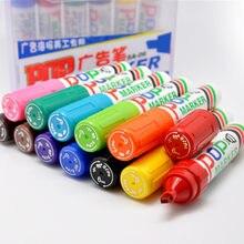 Sipa 12 Farbe POP Marker Stifte, Hervorhebung Stifte für Schreiben, Zeichnung, Werbung, Poster Design, förderung, Feier