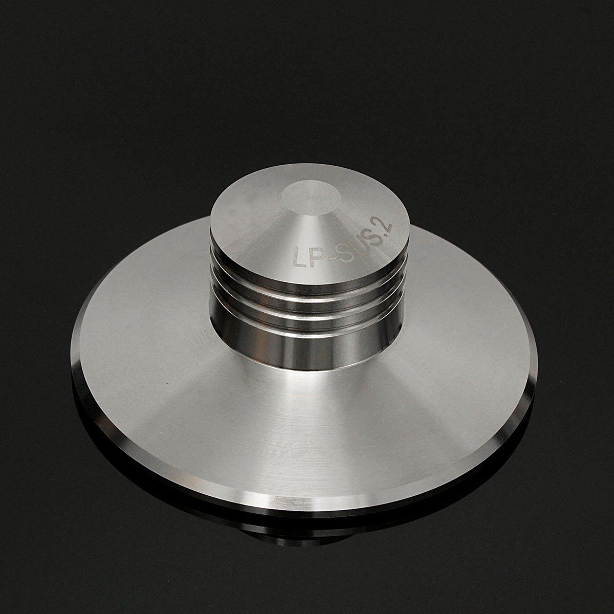 LEORY Metal LP Vinyl Turntable Clamp Record Weight Disc Stabilizer Stainless Steel Stabilizer 380g For Vinyl