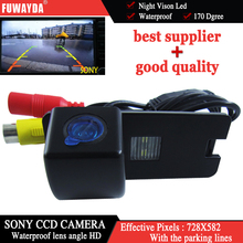 FUWAYDA NIGHT VISION HD WATERPROOF CCD SONY CAR IN REAR VIEW REVERSE BACKUP PARK
