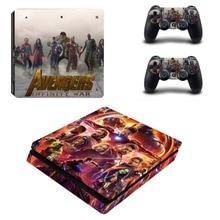 The Avengers Infinity War PS4 Slim Skin Sticker