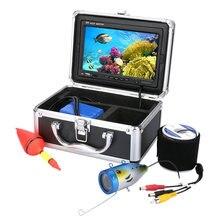 Аккумуляторная 20/30м камера 1000tvl HD камеры рекордер Водонепроницаемый 20 метр Рыбалка Мониторинг подводный 6 светодиодов Искатель рыб