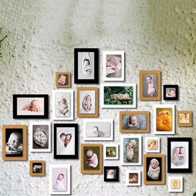 New 7Pcs 7 Inch Diy Paper Photo Frames For Pictures Vintage Frame ...