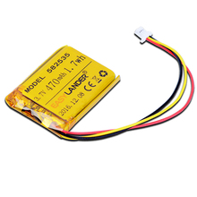 MODÈLE 582535 SP5 3.7 V 470 mAh Rechargeable li-Polymère Li-ion Batterie Pour MIO tachygraphe papago Whistler WP7 Pro QStar A5 DVR