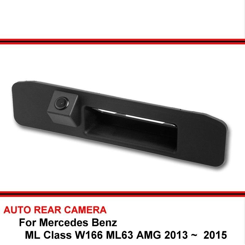 Pour Mercedes Benz ML W166 ML63 AMG 2013 2014 2015 Vision nocturne voiture recul Parking caméra de recul HD CCD
