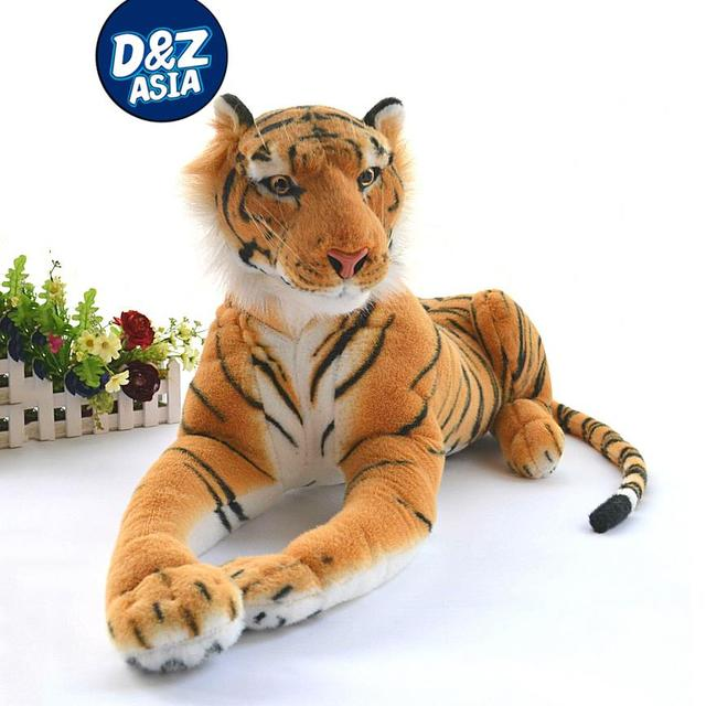 Authentic Simulation Tiger Plush Giant Tiger King Of Jungle Plush