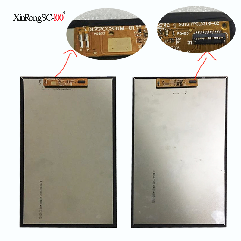 New 10.1 inch 31 pin tablet LCD screen SQ101FPCL331RI-02 SQ101FPCC331M-01 SQ101Q331M-D9401 free shipping