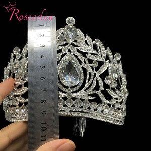 Image 5 - Miss univers Philippines couronnes classique couleur argent strass diadèmes RE998