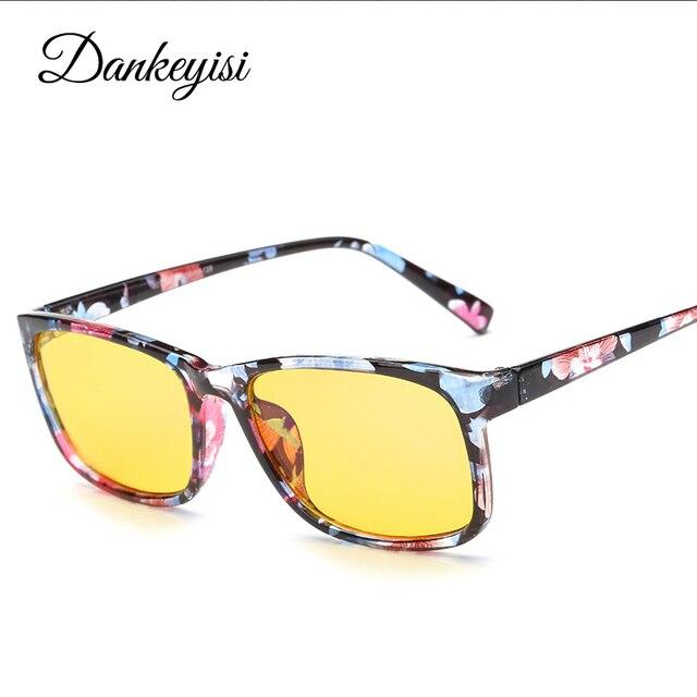 769636b561 DANKEYISI Men Computer Glasses Anti Computer Blue Laser Fatigue Radiation  Resistant Eyeglasses Goggles Glasses Women Oculos de