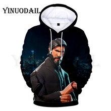 100cm-160cm Parent-Child 3D Hoodies Gunman Hoodie for Kids Sudaderas Para Hombre Streetwear