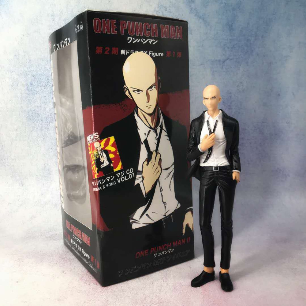 NEW 19cm ONE PUNCH-MAN One Punch Man Rockman Suit Action figure toys doll with box