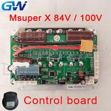 GotWay Msuper X Internationalen version mainboard 84V 100V update firmware control board