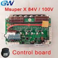 GotWay Msuper X version internationale carte mère 84 V 100 V mise à jour carte de contrôle du micrologiciel