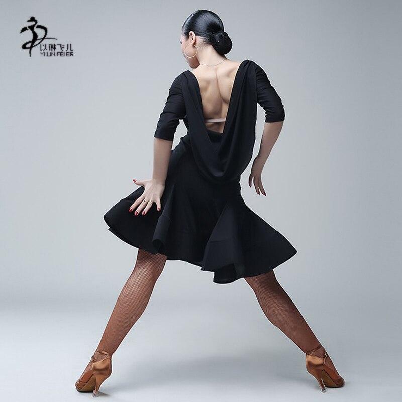 الرقص اللاتينية اللباس رومبا اللاتينية الصلصا سامبا تشاتشا قاعة الرقص اللباس مسابقة الرقص