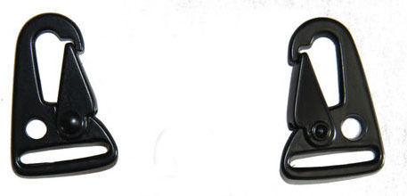 """HK H/&K Style 1/"""" Sling Clips Spring Snap Hook Strap Rifle Gun Attachment"""