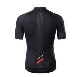 Image 4 - RION Ciclismo Pullover da Uomo Maniche Corte Bicicletta Da Corsa In Discesa Magliette E Camicette Retro 2018 MTB Mountain Bike Motore T camicia Camisa ciclismo