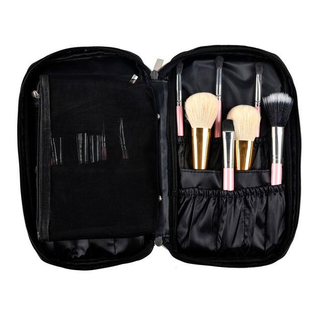 Pro Makeup Brush Cosmetic Bag Tool Organizer Holder Pouch Pocket Kit Make Up
