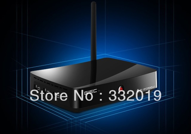 Free shipping GIEC R1 dual-core android 4.1 wifi STB network player television set-top box