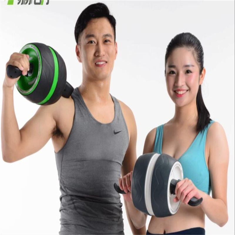 Single Wheel Abdominal Muscle Trainer Body Building Ab Roller Home Fitness Training Equipment 2014 up dated abdominal trainer strength training equipment home exercise