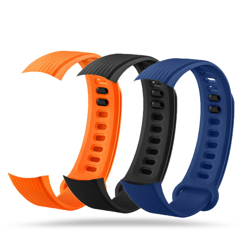 ZUCZUG For honor band 3 Fashion Sports Silicone Bracelet Strap Band For Huawei Honor 3 Smart Watch drop shipping aug3 new best price milanese magnetic loop stainless steel band strap bracelet for huawei honor 3 smart watch drop shipping jan8