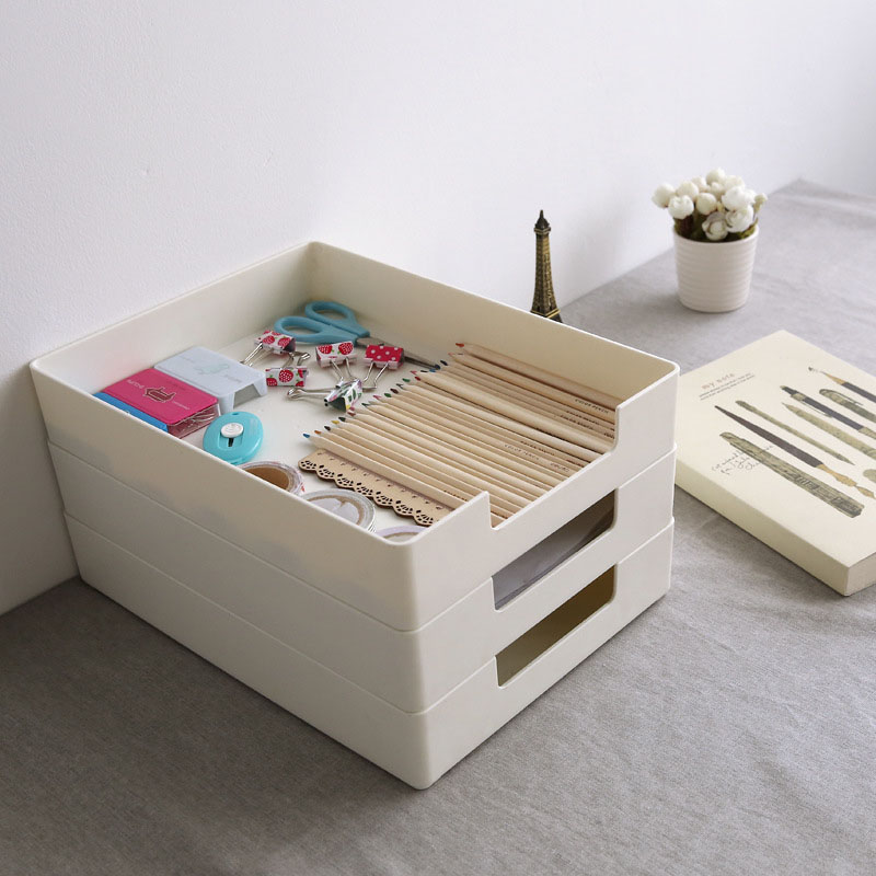 Creative Stationery Student Desk Home Office Storage File