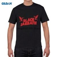 GILDAN Printed T Shirt Fashion Classic Black Sabbath T Shirt Heavy Metal Rock Roll Band Men