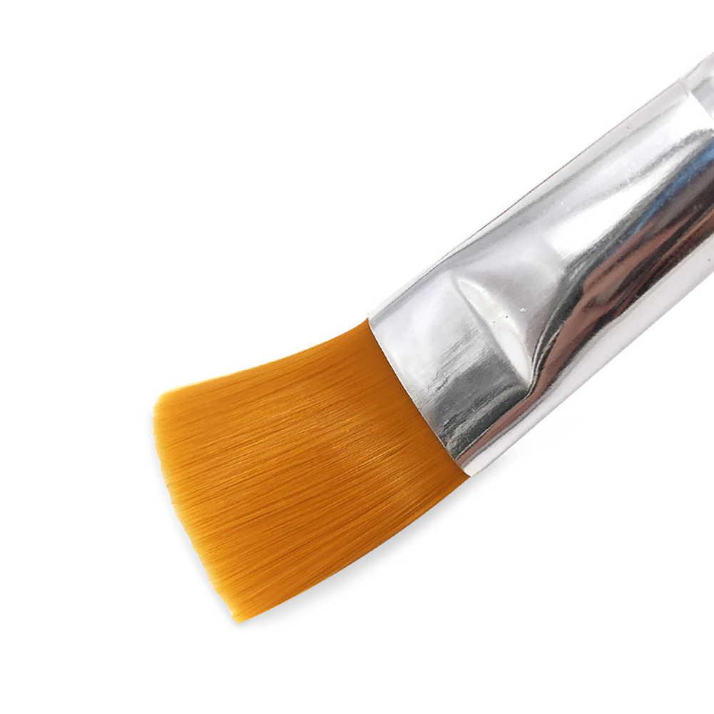 1 Pc Holz Applikator Pinsel Diy Gesichts Maske Schlamm Maske Körper Lotion Und Körper Butter Applikator Werkzeuge Pinsel Faser Haar gesichts Schlamm Ma