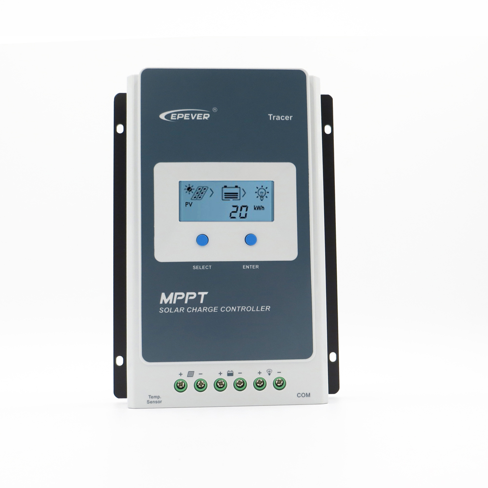 Tracer3210AN EPsloar 30A MPPT Solar system Kit Controller 12V 24V LCD Display EPEVER Regulators 3210AN 3210A