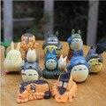 Resina micro paisaje artesanías hechas a mano de anime Mi Vecino Totoro 10/set DIYtoys jardín decoración aumentar la sala de belleza