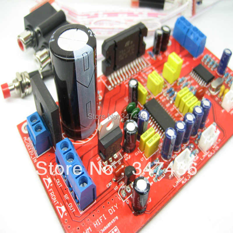 detail feedback questions about four channel electronic volume pre tda7388  car amplifier car audio home theater finished board on aliexpress com |  alibaba