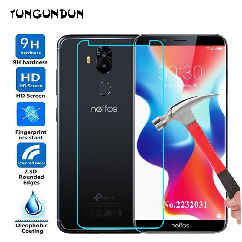 For TP Link Neffos C9 Glass Explosion proof 9H Screen Protective Tempered Glass for Neffos C9