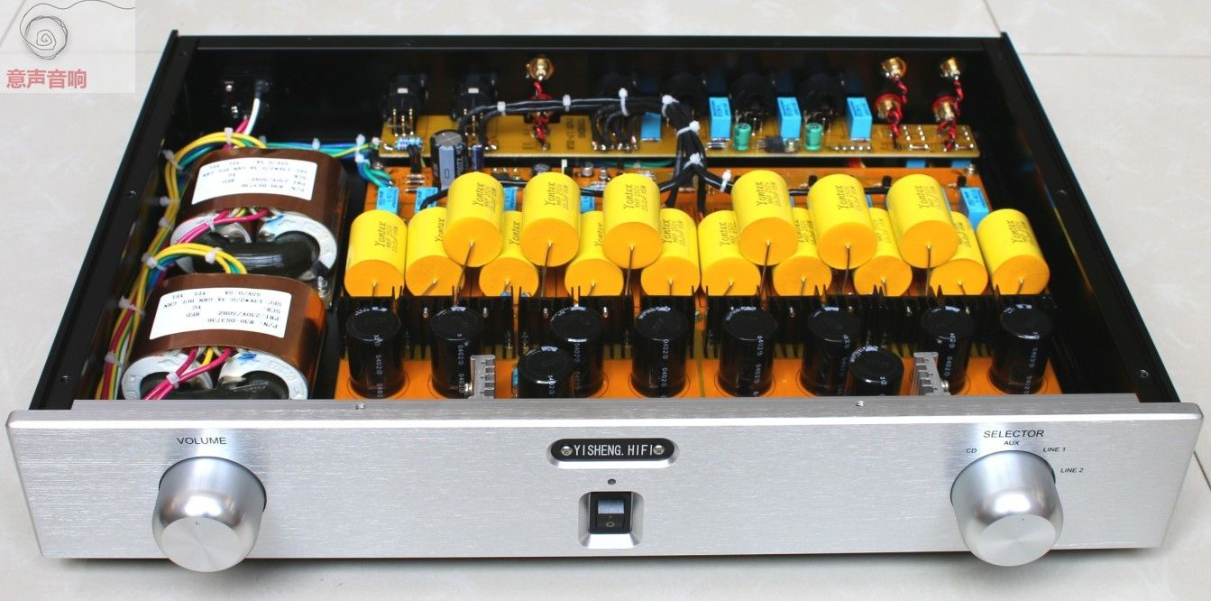 купить ZEROZONE Finished Hifi preamp PASS 1.7 Field effect transistor balance preamplifier L6-9 по цене 38622.58 рублей