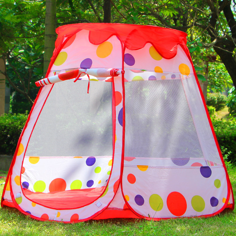 Wishing indoor and outdoor tent large house game house baby princess theater portable marine ball pool baby toys playpen