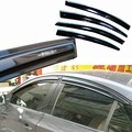 4pcs Windows Vent Visors Rain Guard Dark Sun Shield Deflectors For Chevrolet Cruze