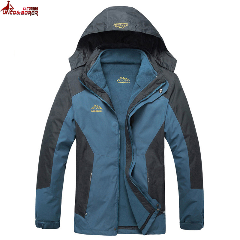 Размера плюс L ~ 6XL,7XL,8XL верхняя одежда Водонепроницаемый ветрозащитный дышащий Теплый мужское зимнее пальто/парка 2 в 1 для открытого воздуха снег Лыжная куртка мужской одежды jacket winter men winter men coatwinter men   АлиЭкспресс